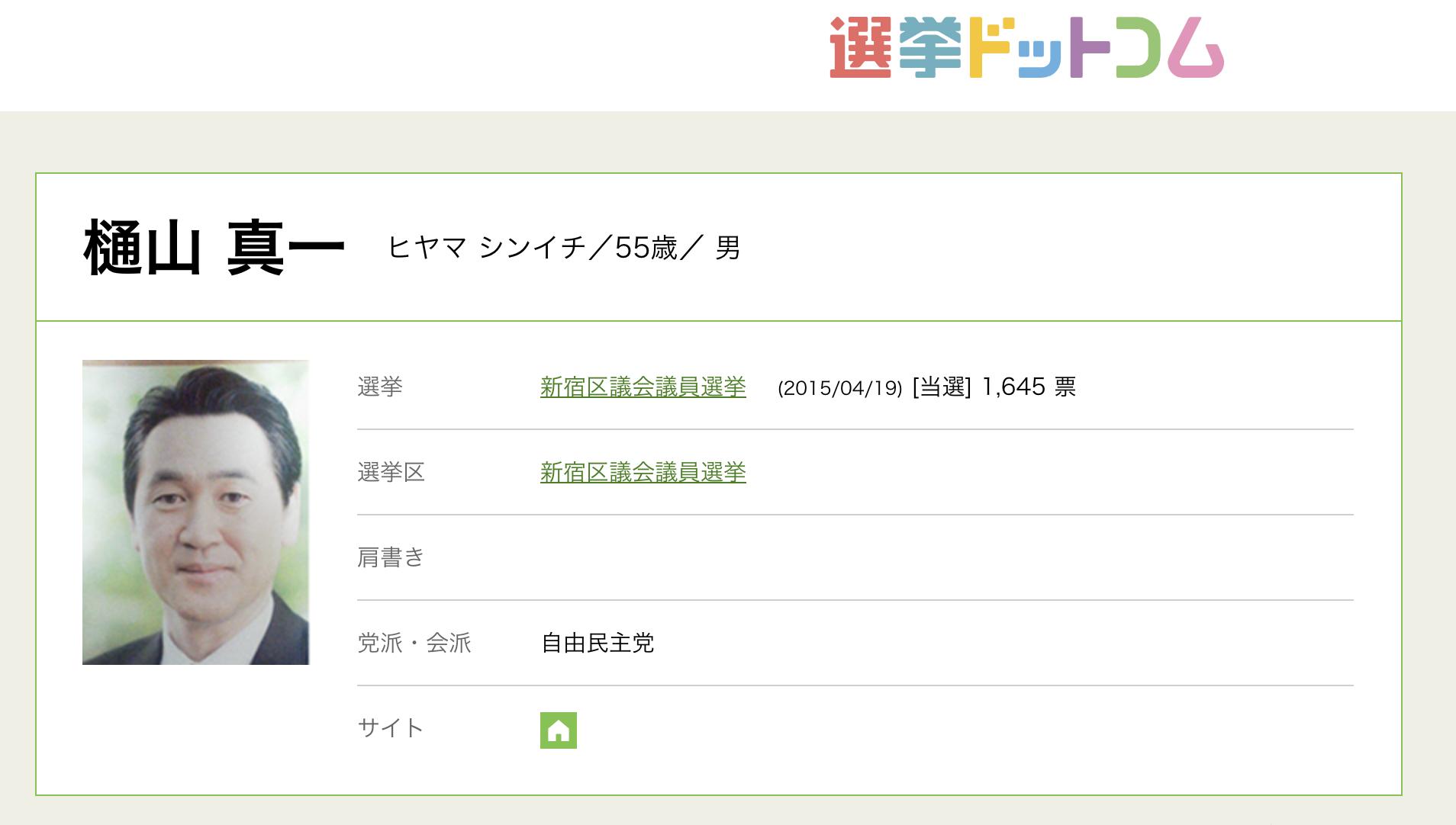 樋山真一(シンイチ)のSUBARU ver.50(スバル)の特定商取法に基づく表示